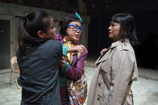 Jpeg 12. Katie Leung (Sunny), Vera Chok (Ming Ming), Sarah Lam (Artemis Chang)_The World of Extreme Happiness_c. Richard H Smith