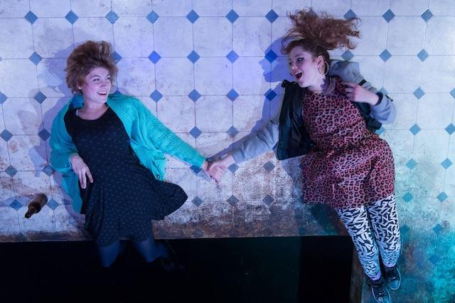 Left Eden Howard (Jenny) Right Kate Lassman-Long (Nadine) Photograph By Manuel Harlan