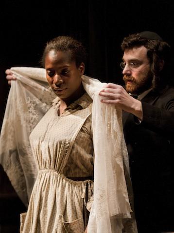 Intimate Apparel. Tanya Moodie and Ilan Goodman. Photo credit Simon Annand