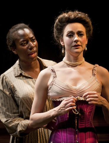 Intimate Apparel. Tanya Moodie and Sara Topham. Photo credit Simon Annand